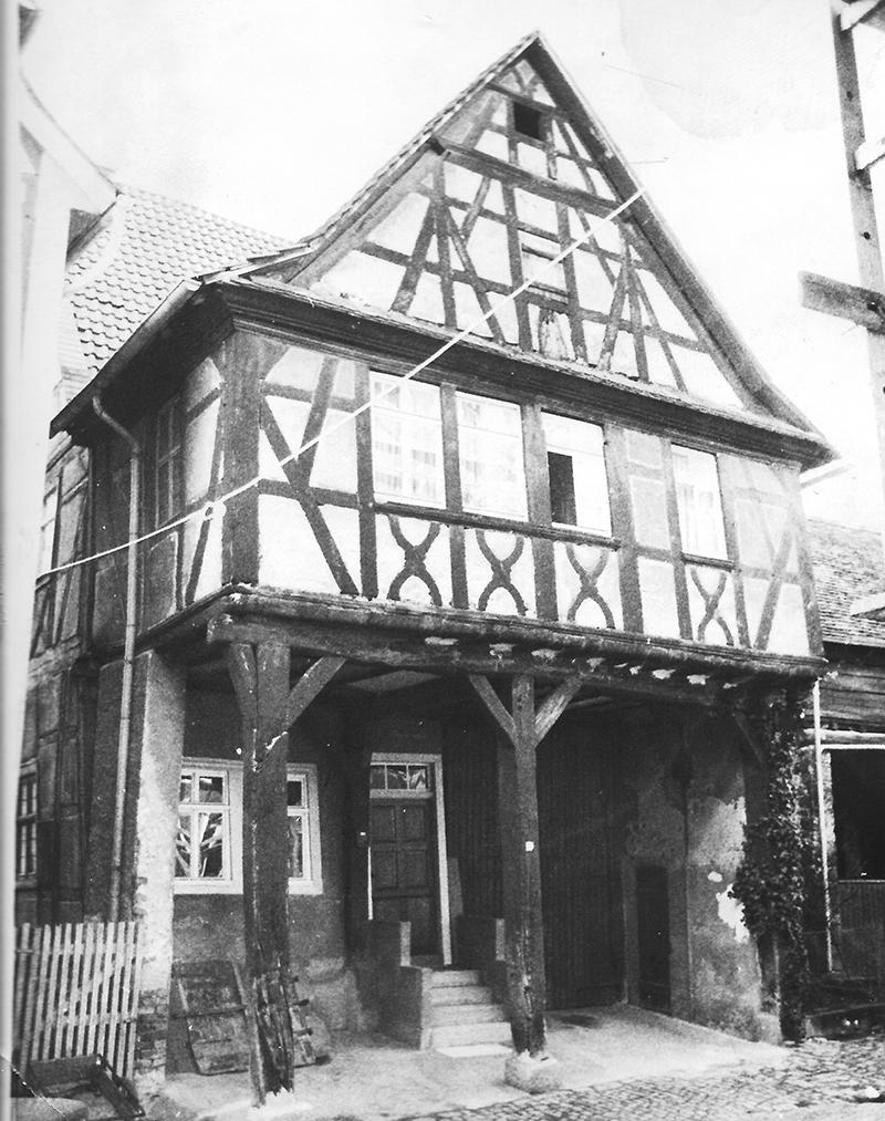 Heppenheimer Altstadtfreunde_Stelzenhaus_Vorher